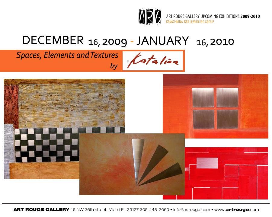 Katalina Proano Contemporary Art Miami December 2009